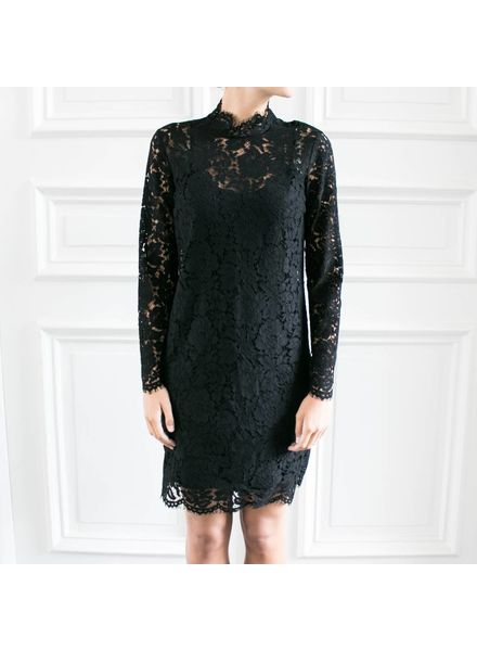 SET Lace dress - Black