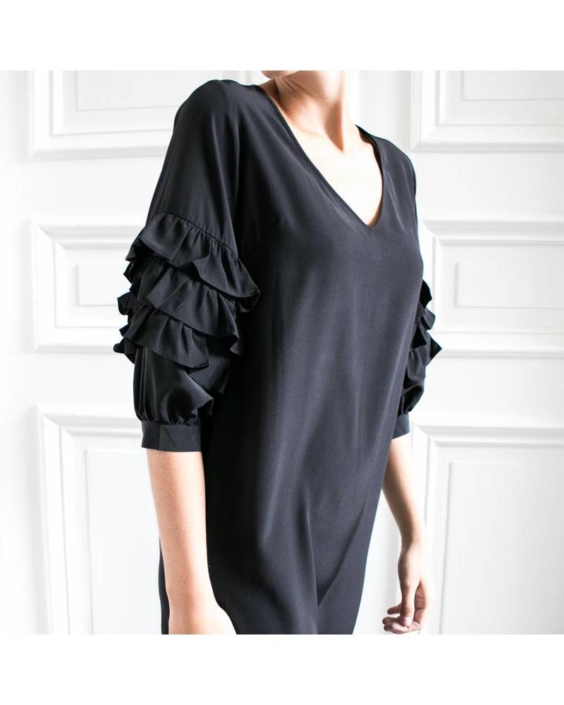Kelly Love  Secret Nights dress - Black