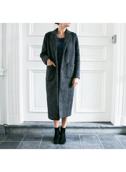 Liv The Label Holly coat - Dark Grey