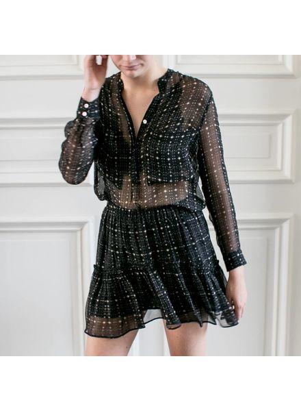 Magali Pascal Etoile Skirt - Black Galaxy