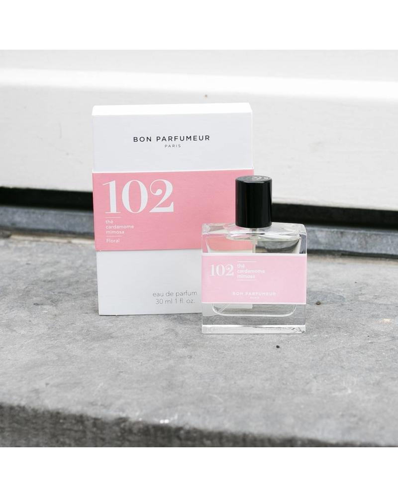 Bon Parfumeur 102 tea, cardamom, mimosa