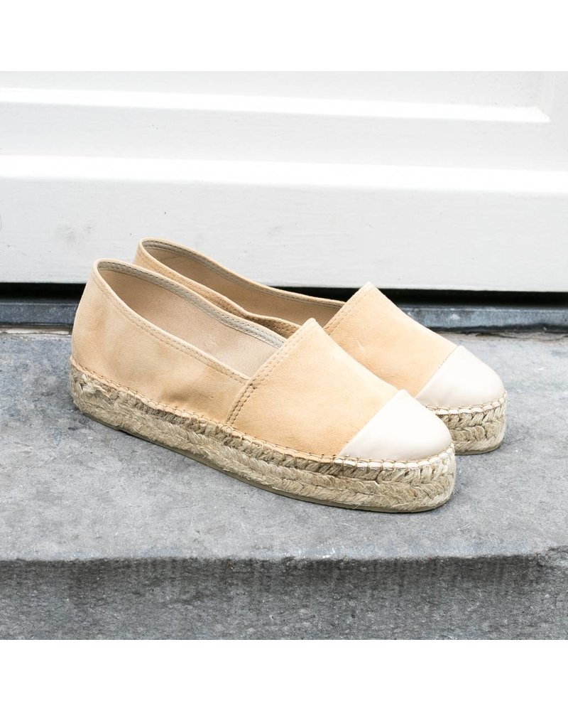 N8 Antwerp Suede creeper - Triana/True camel