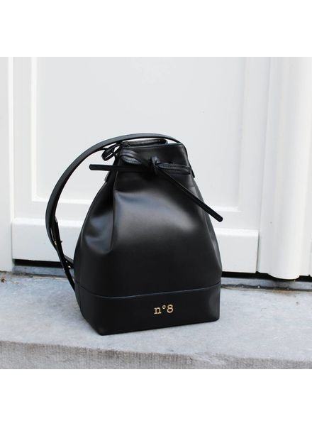 N°8 Antwerp Bucket bag - Black