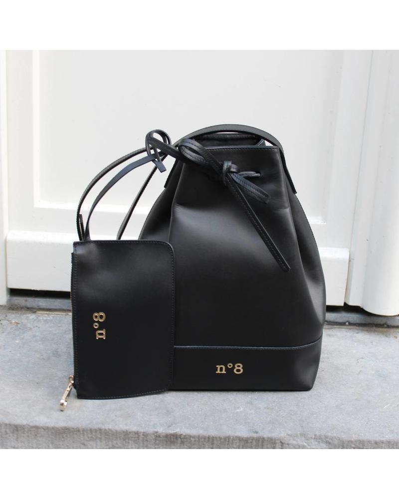 N°8 Antwerp Bucket bag - Black