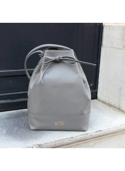 N°8 Antwerp Bucket bag - Souris