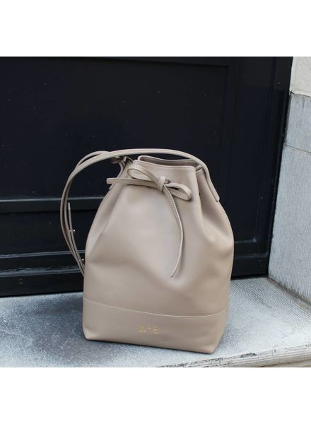 N°8 Antwerp Bucket bag - Taupe