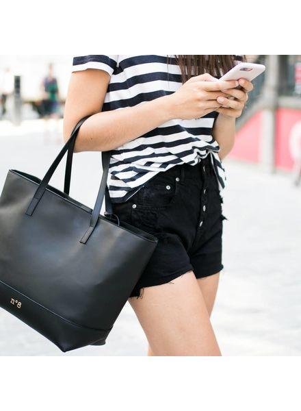 N°8 Antwerp Tote bag - Negro