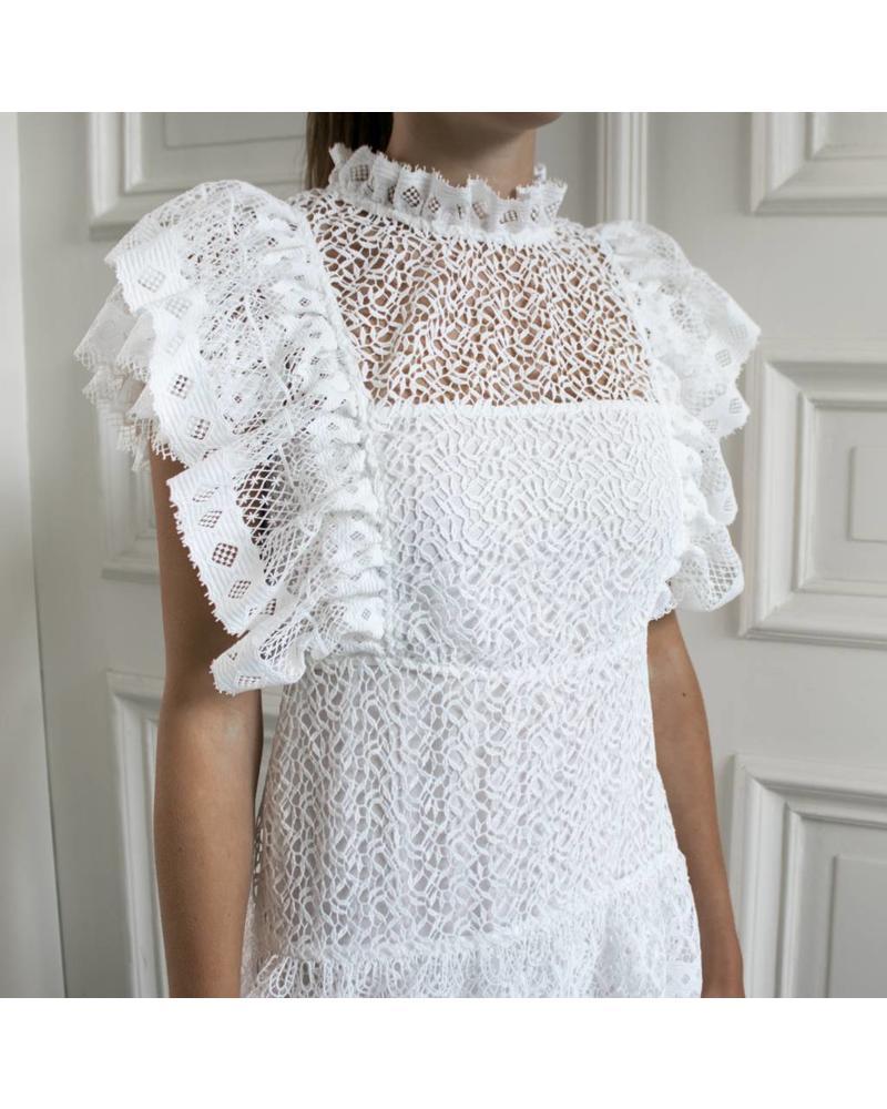 Anine Bing Penelope dress - White