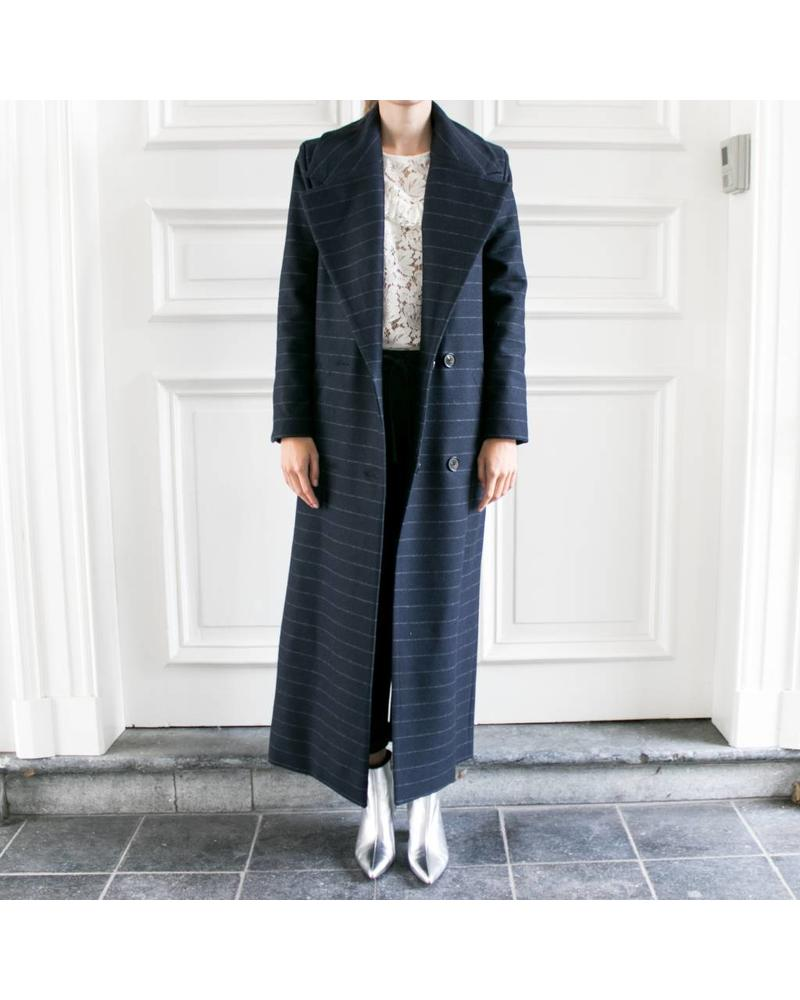 Sudio Ruig Coat Celine - Chalk Blue