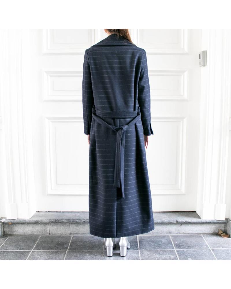 Studio Ruig Coat Celine - Chalk Blue