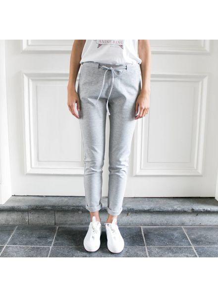StudioRuig Thick jersey Trousers Bries - Light grey