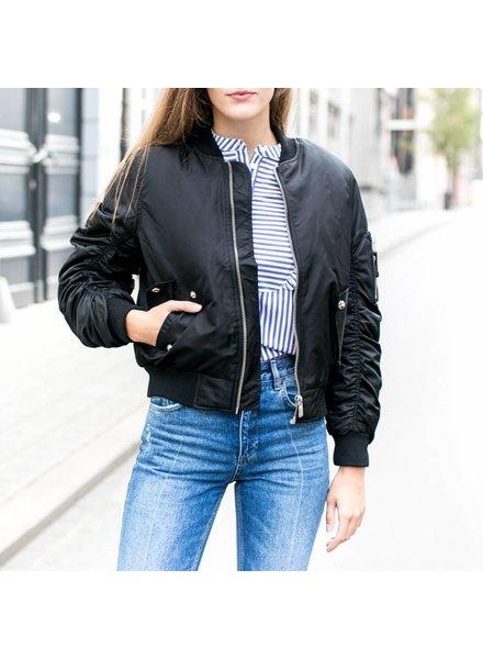 Anine Bing Bomber Jacket - Black