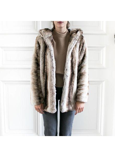SET Faux Fur Jacket