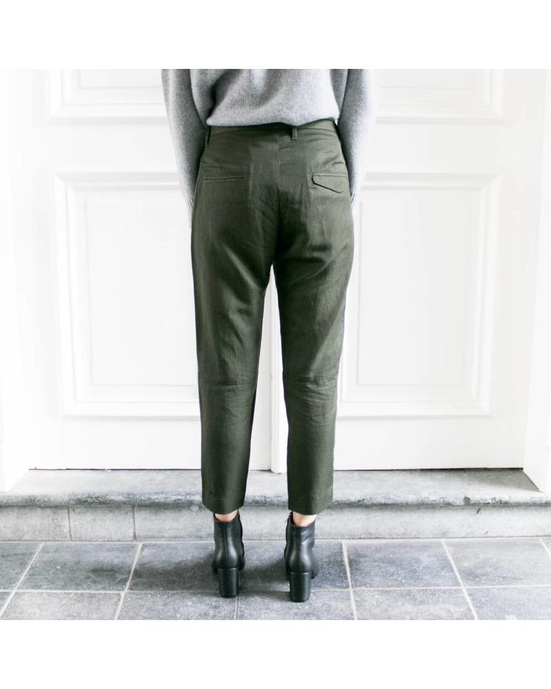 Hope Krissy trousers - Khaki green