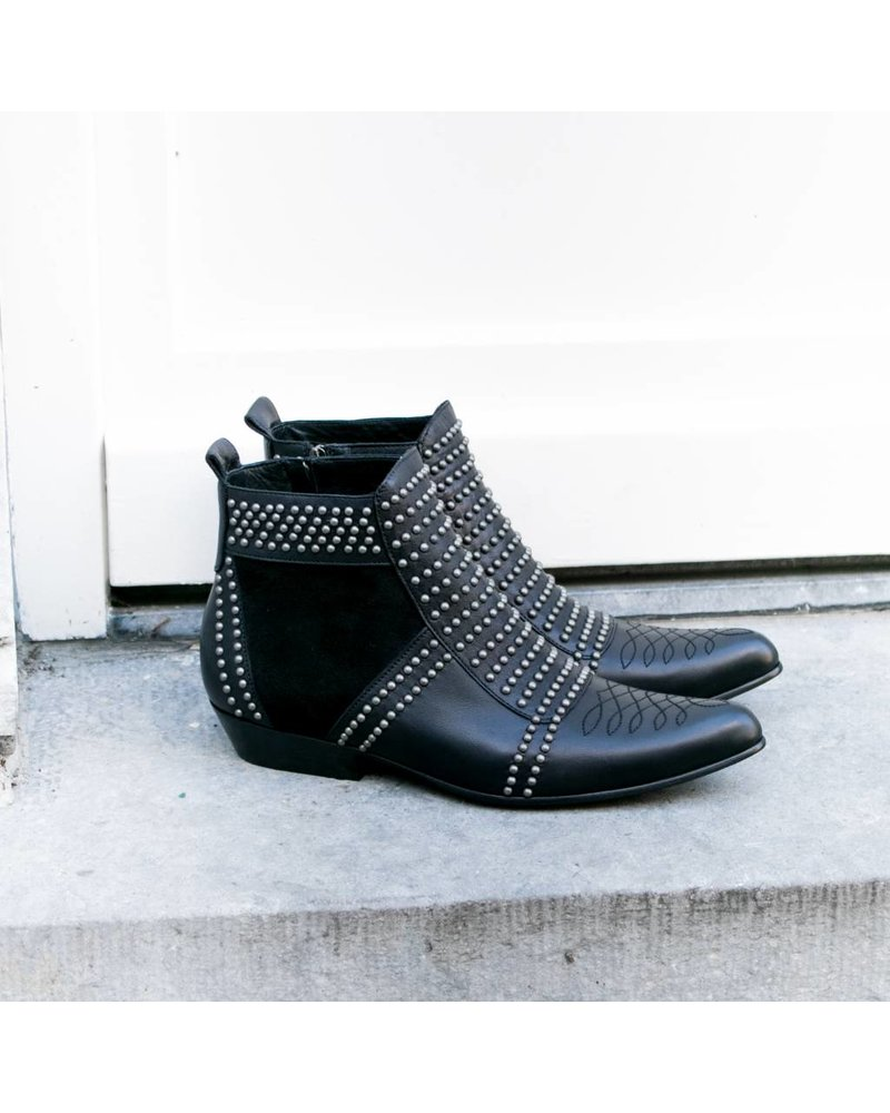 Anine Bing Charlie boots - Silver studs