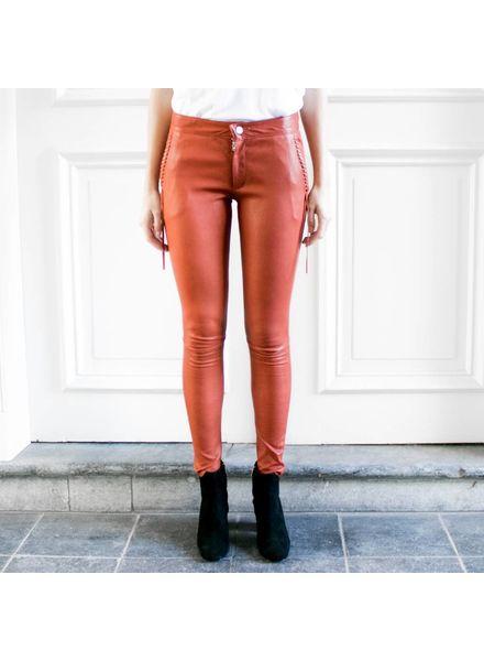 Hironae Lynn leather pants - Grenade