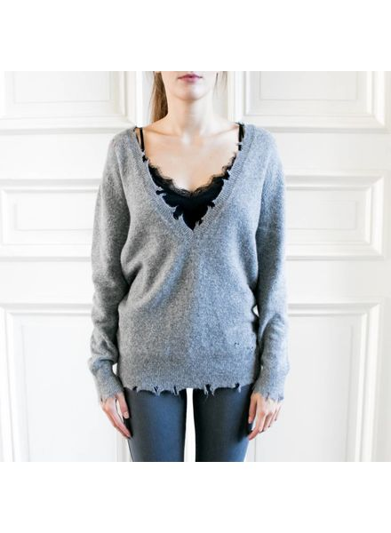 Iro Brody sweater - Grey