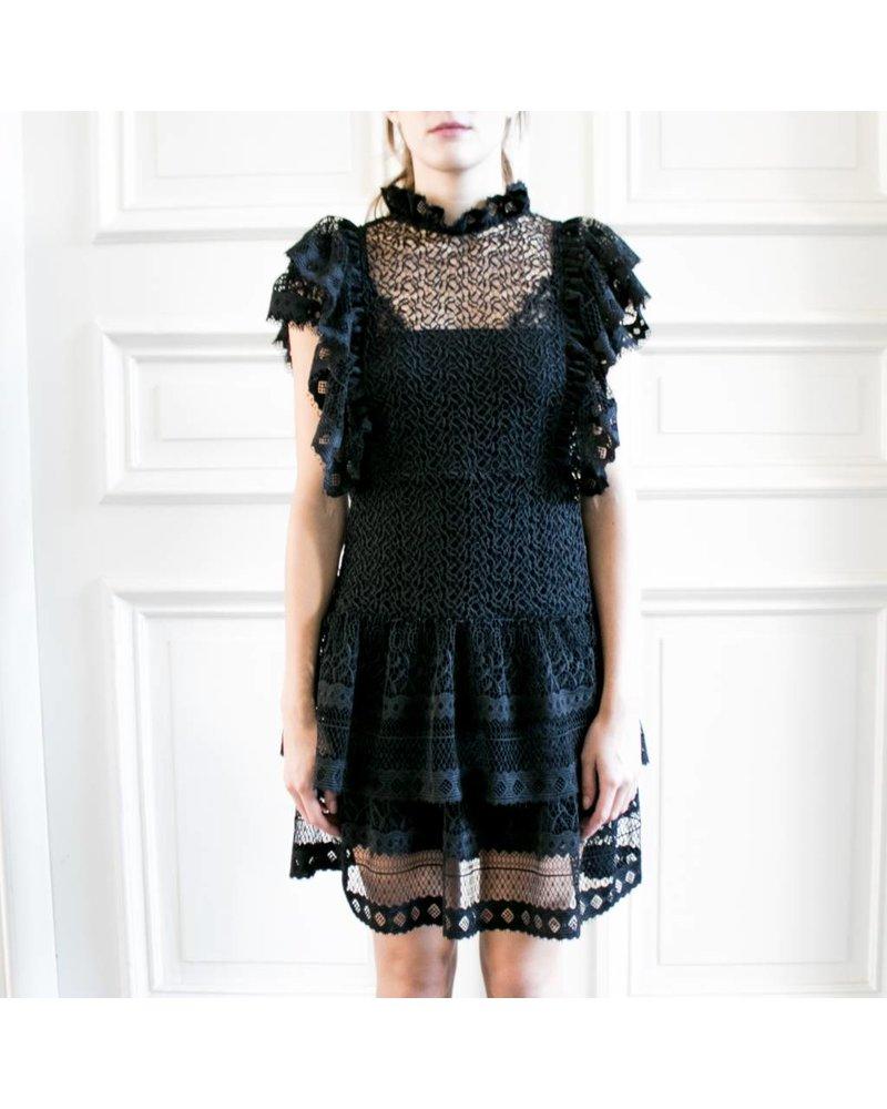 Anine Bing Penelope Dress - Black