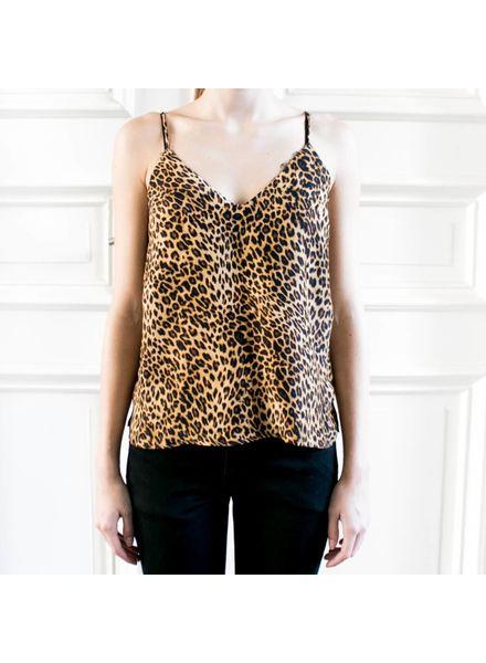 Anine Bing Gwyneth silk camisole - Leo