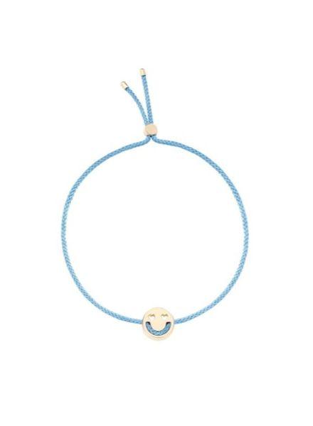 Ruifier Smitten bracelet 18K Yellow Gold - Sky Blue