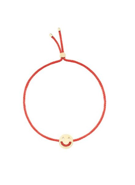 Ruifier Dreamy Bracelet 18K Yellow Gold - Red