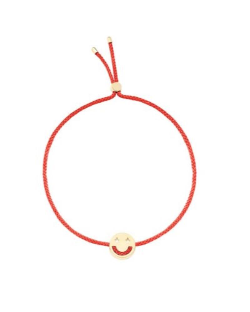Ruifier Dreamy Bracelet 18K Yellow Gold - Red