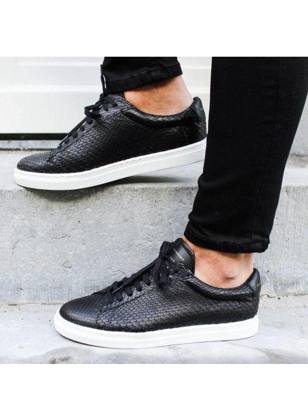 Zespa Sneaker Python - Black