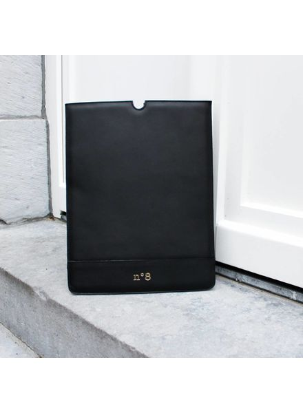N°8 Antwerp Laptop sleeve - Negro