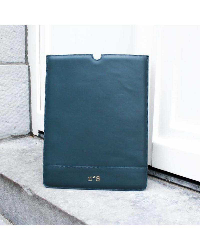 N°8 Antwerp Laptop sleeve - Petrol