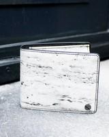 Black Tailors Wallet Set - Travertine