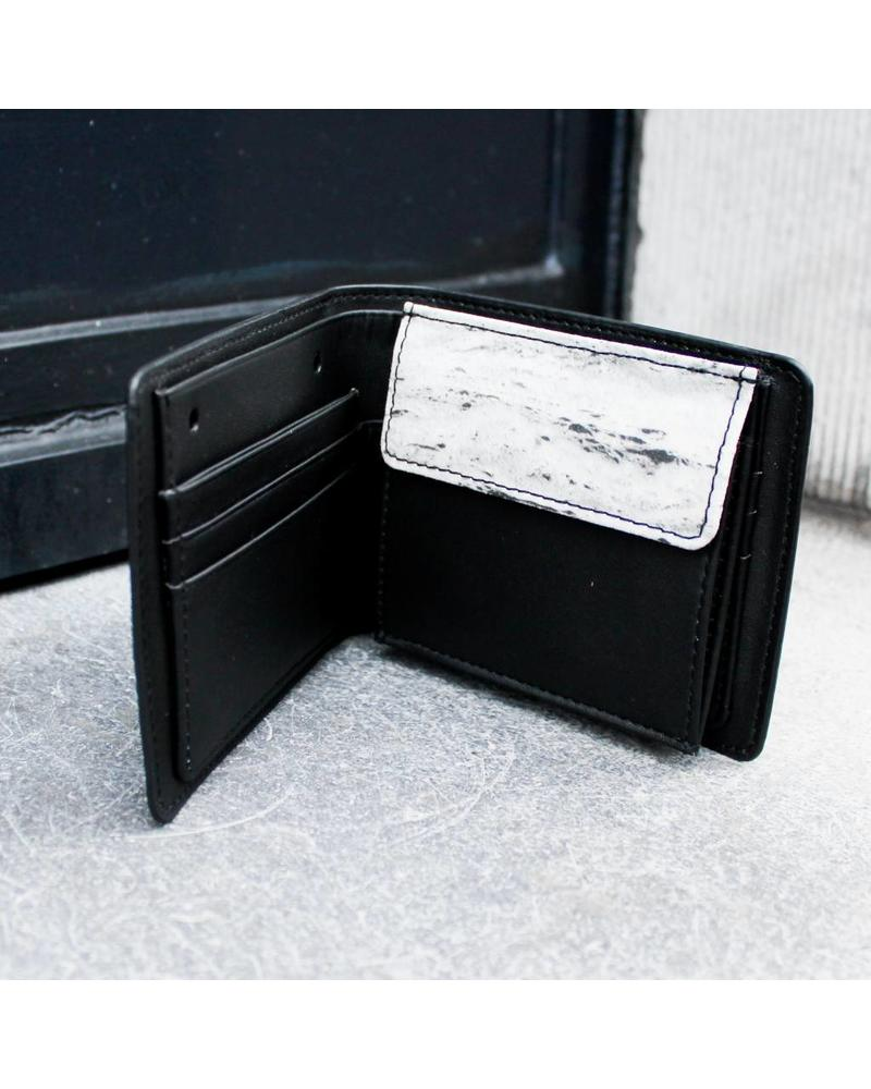 Black Tailors Wallet Set - Travertine