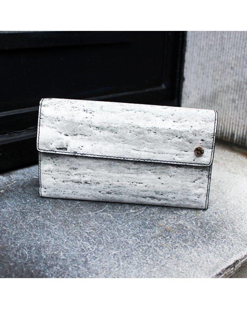 Black Tailors Long wallet Set - Travertine