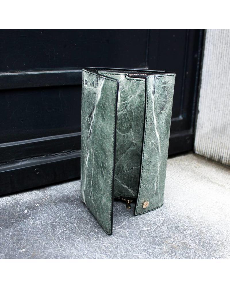 Black Tailors Long wallet Set - Serpentine