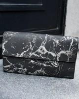 Black Tailors Long wallet Set - Marquina