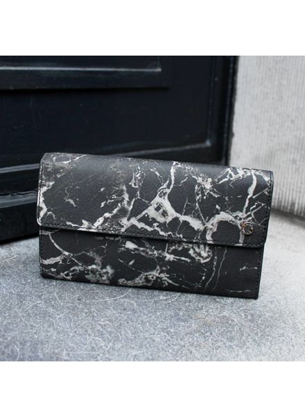 Black Tailors Long wallet Set - Marquina