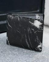 Black Tailors Wallet Set - Marquina