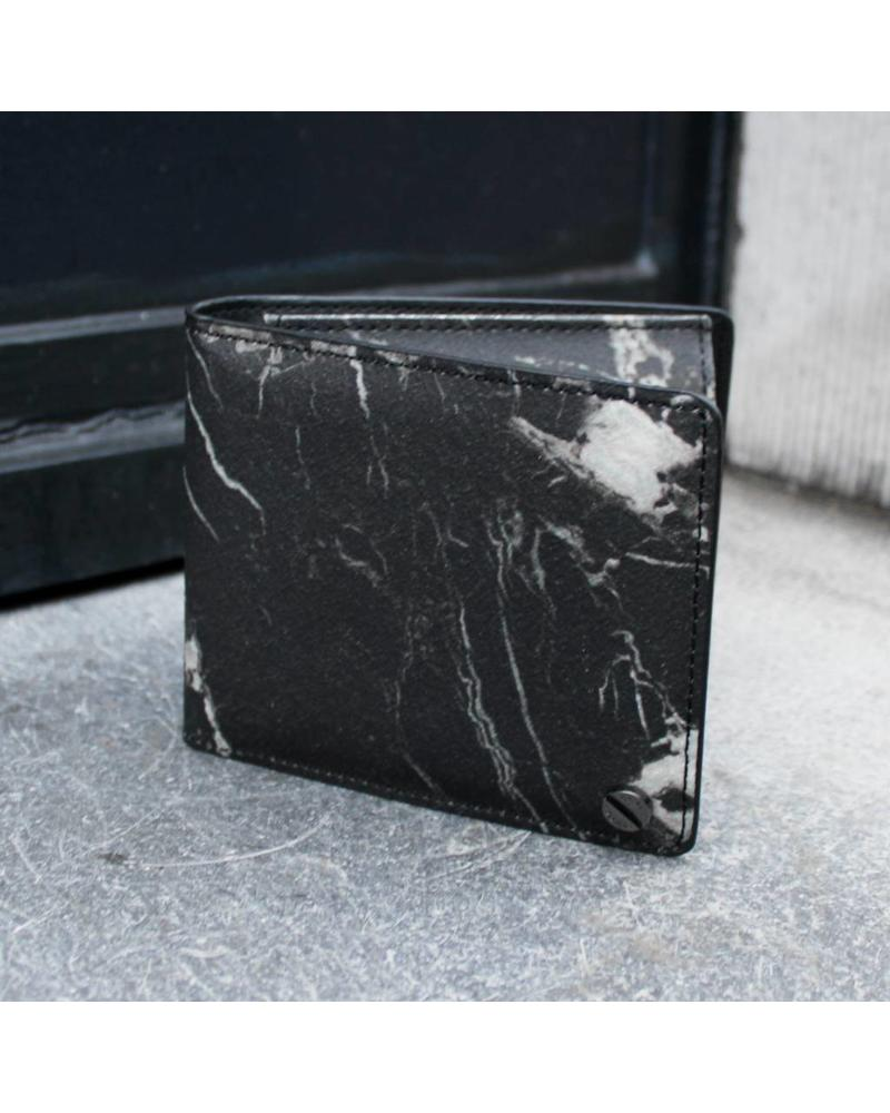 Black Tailors Wallet Set - Marquina