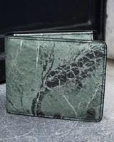Black Tailors Wallet Set - Serpentine