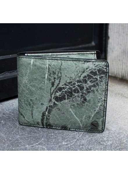Black Tailors Wallet Set - Serpentine