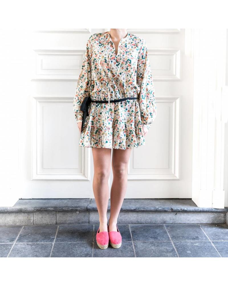Matin Sao Miguel Floral Tie Dress - Pink Floral