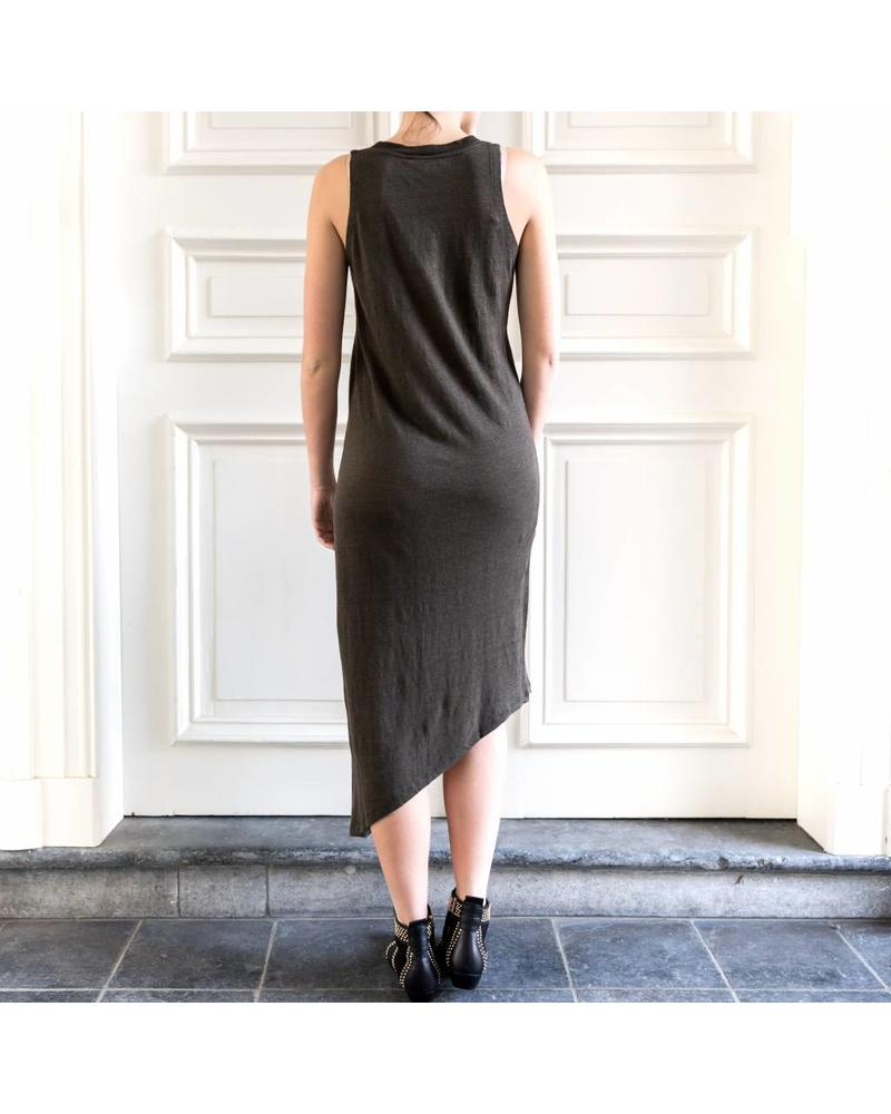 Iro Karossi dress - Charcoal