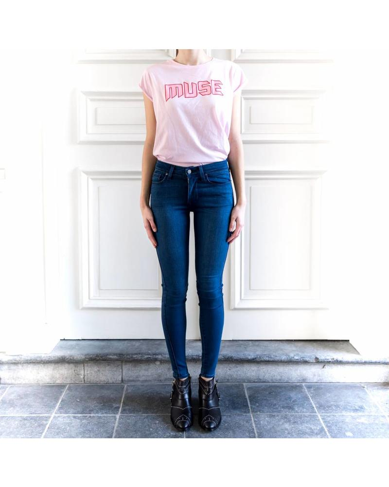 Liv The Label Majorca tee 'Muse' - Pink Marshmallow