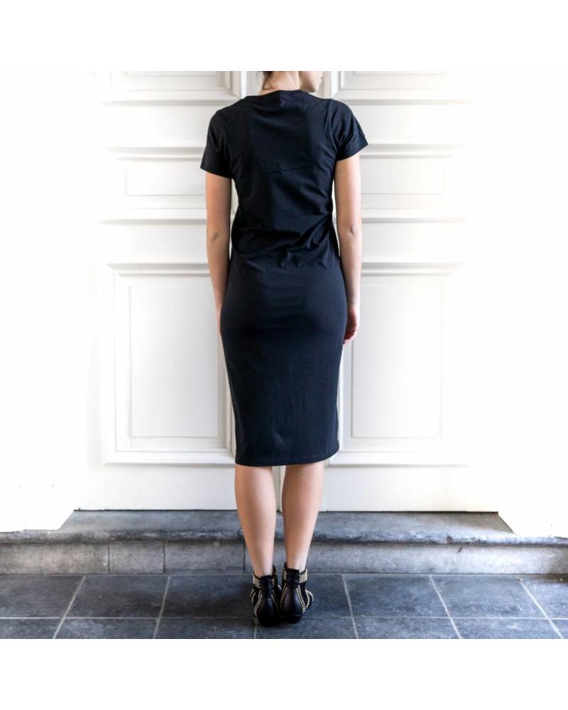 Liv The Label Djerba t-shirt dress - Black