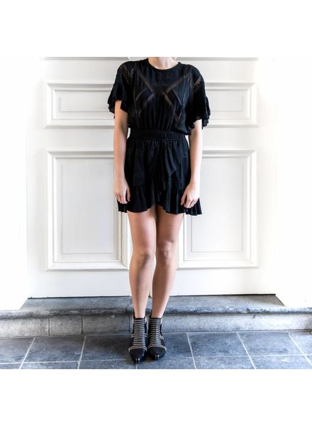 Iro Kimcey dress - Black