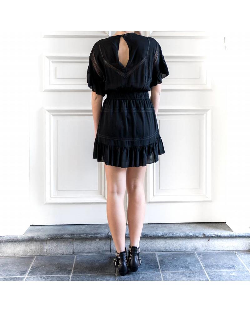 Iro Kimcey dress - Black