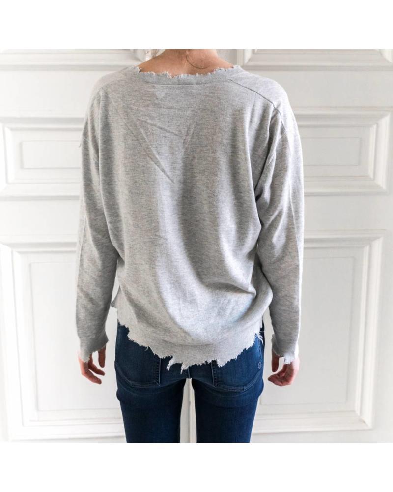 Iro Gnotta sweater - Light grey
