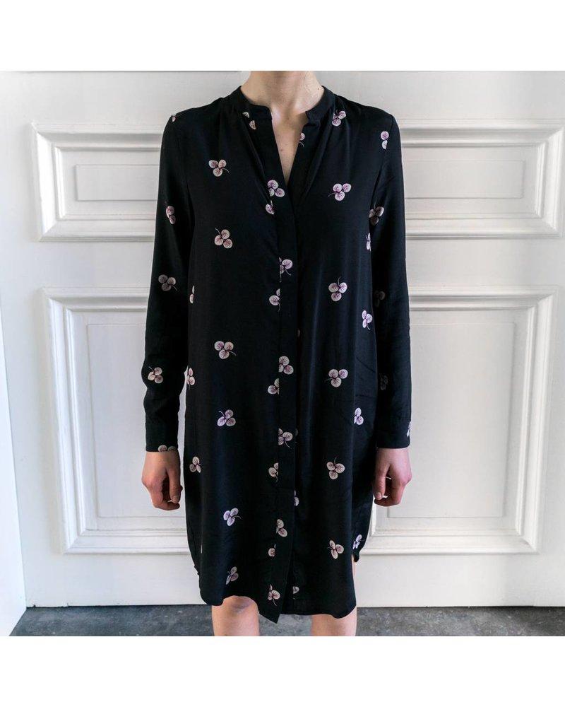 Liv The Label Ibiza shirt dress - Black