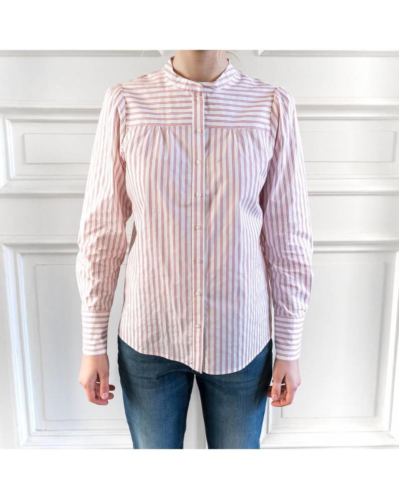 SET Striped blouse - White