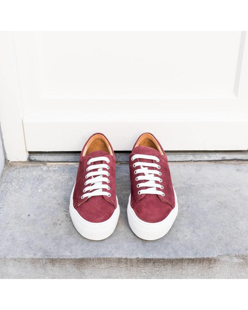 Hope Sam Sneaker - Wine