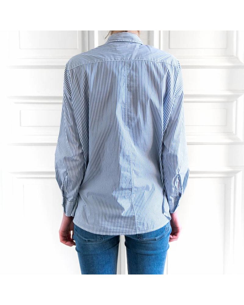 Hope Elma Shirt - Blue Stripe